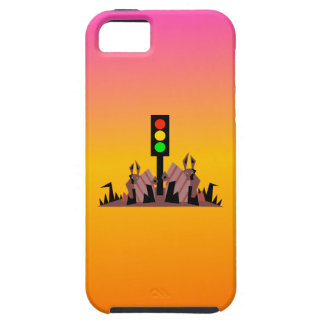 Stoplight with Bunnies, Dreamy Background iPhone 5 Case