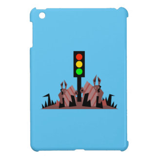 Stoplight with Bunnies iPad Mini Case