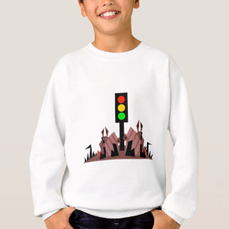 Stoplight with Bunnies Sweatshirt