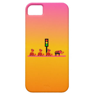 Stoplight with Heart Caravan, Dreamy Background Case For The iPhone 5