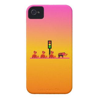 Stoplight with Heart Caravan, Dreamy Background iPhone 4 Case