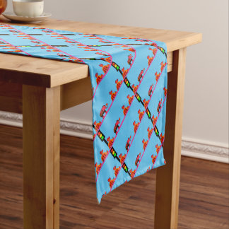 Stoplight with Heart Caravan Short Table Runner