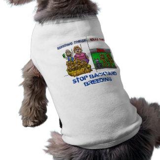 STOPO BACKYARD BREEDING PET CLOTHING