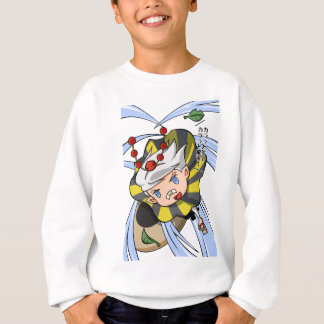 Stopping permission! Empty tsu Kazetarou English Sweatshirt