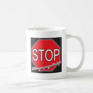 stoppray coffee mug