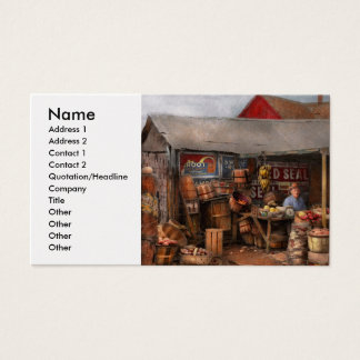 Store - Fruit - Grand dad's fruit stand 1939 Business Card
