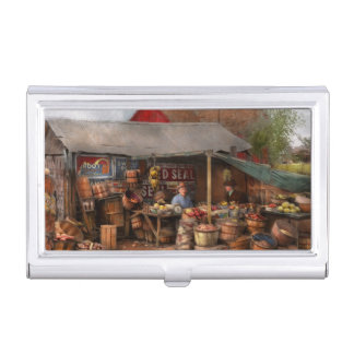 Store - Fruit - Grand dad's fruit stand 1939 Business Card Holder
