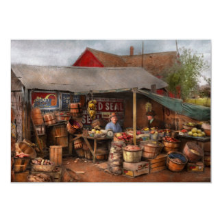Store - Fruit - Grand dad's fruit stand 1939 Card