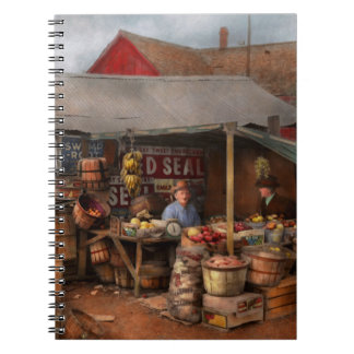 Store - Fruit - Grand dad's fruit stand 1939 Notebooks