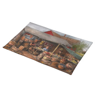 Store - Fruit - Grand dad's fruit stand 1939 Placemat