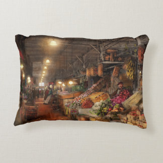 Store - Grocery - The first superstore 1922 Accent Pillow