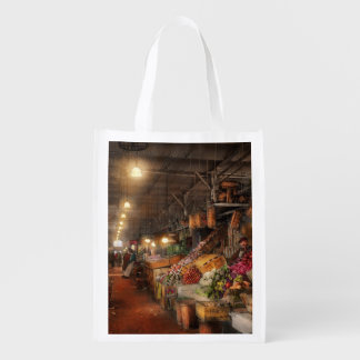 Store - Grocery - The first superstore 1922 Reusable Grocery Bag