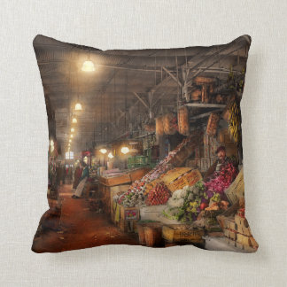 Store - Grocery - The first superstore 1922 Throw Pillow