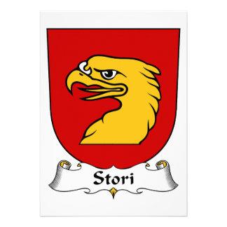 Stori Family Crest Personalized Invitations