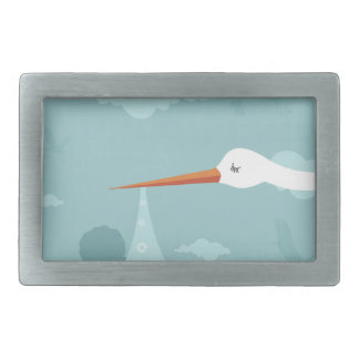 Stork and the kid belt buckles