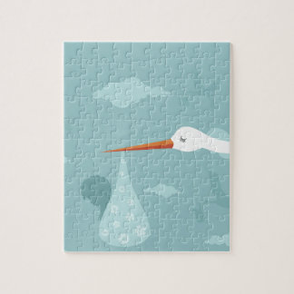 Stork and the kid jigsaw puzzle