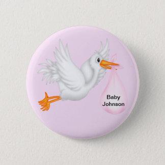 Stork Buttons For Girls