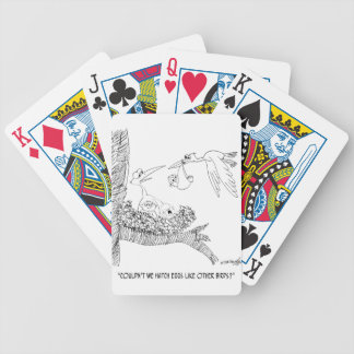 Stork Cartoon 0604 Bicycle Playing Cards
