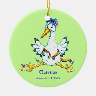 Stork has delivered Ornament