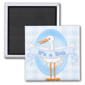 Stork It's a Boy  Magnet