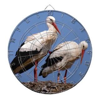 Storks nest dartboards