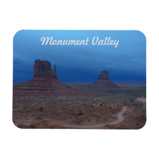 Storm and Sunset in Monument Valley Rectangular Photo Magnet