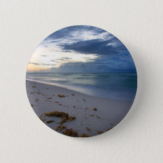 Storm Approaching Miami Beach 2 Inch Round Button