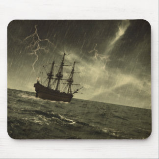 Storm at Sea Mouse Pad