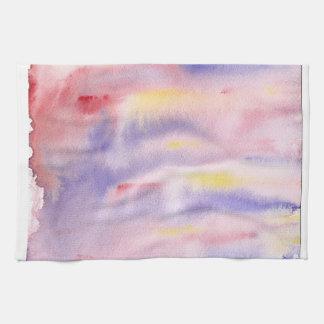 Storm at Sunset Tea Towel by KCS