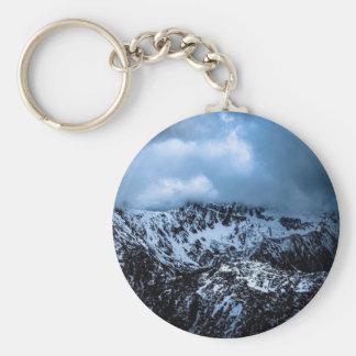 Storm Brewin' Basic Round Button Keychain