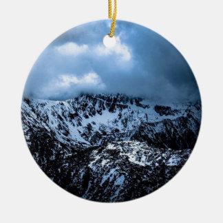 Storm Brewin' Ceramic Ornament