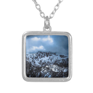 Storm Brewin' Silver Plated Necklace