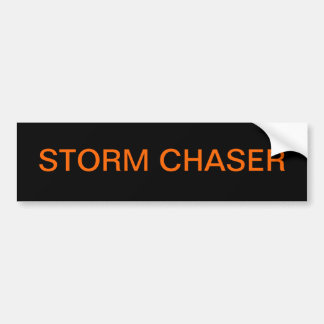 Storm Chaser Bumper Sticker Car Bumper Sticker