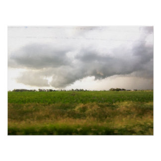 """""""Storm Chaser Field of Dreams"""" Poster"""