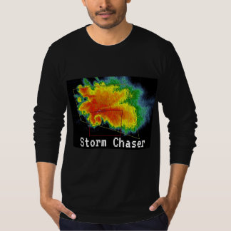 Storm Chaser Hook Echo Radar Image T-Shirt
