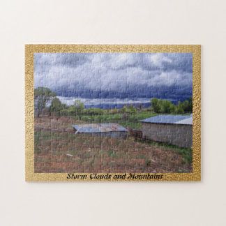 Storm Clouds and Mountains Puzzles