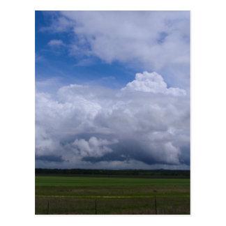 Storm Clouds at a Distance Postcard