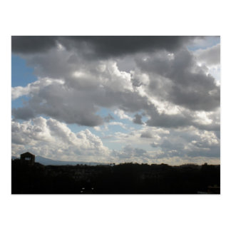 Storm Clouds over the Aventine Postcard