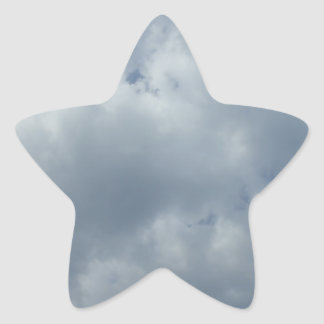 Storm Clouds Star Sticker