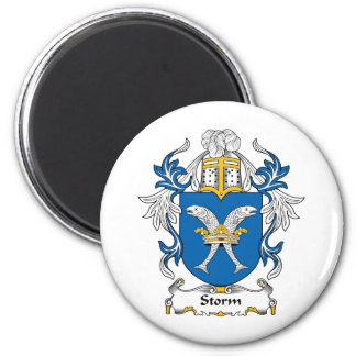 Storm Family Crest Magnet
