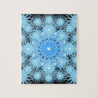 Storm Flake Mandala Jigsaw Puzzle