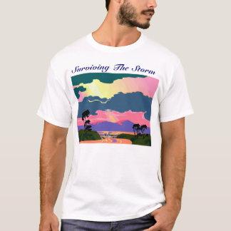 storm graphic copy, Surviving The Storm T-Shirt