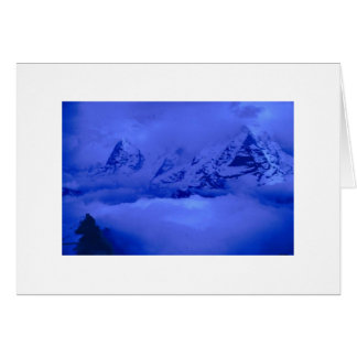 Storm in the Alps Card