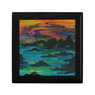 Storm in the distance keepsake boxes