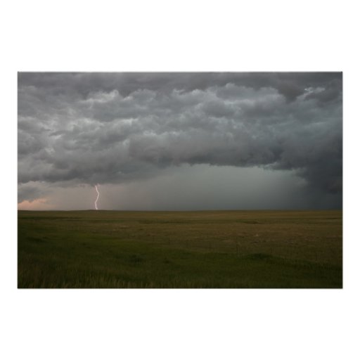 Storm in the Distance Posters