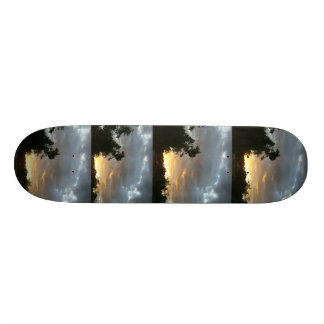 Storm looming over Skateboard