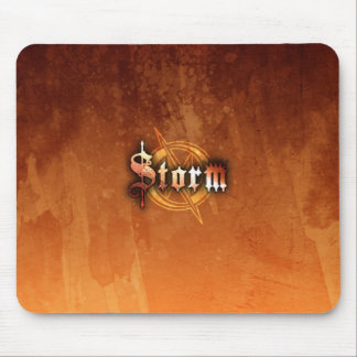 Storm Mousepad - (RustRed)