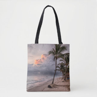 Storm On The Caribbean Tote Bag