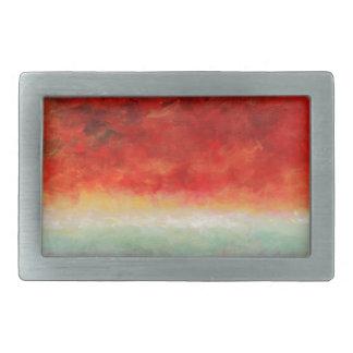 Storm on the Horizon by Fine Artist Alison Galvan Belt Buckle