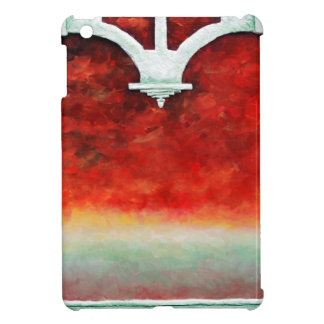 Storm on the Horizon by Fine Artist Alison Galvan iPad Mini Covers